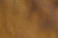 Orange net textile pattern Stock Photography