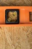 Orange nivå med rum för kopia Royaltyfri Foto