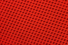 Orange nonwoven fabric background texture Stock Image