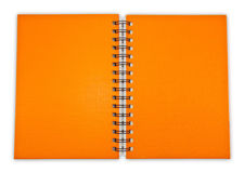 Orange Note Book Royalty Free Stock Images
