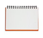 Orange Note Book Royalty Free Stock Photo