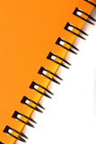 Orange notebook Stock Photos