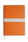 Orange notebook Royalty Free Stock Image