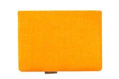 Orange notebook Royalty Free Stock Photo