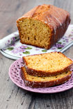 Orange nut tea bread Royalty Free Stock Photography