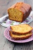Orange nut tea bread Royalty Free Stock Photography