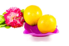 orange nya frukter Royaltyfri Fotografi