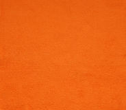 Orange Oberflächengewebe für Hintergrund Stockbilder