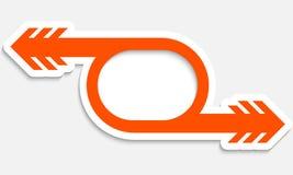 Orange object Stock Photography
