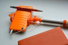 Orange objekt Fotografering för Bildbyråer