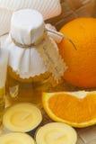 Orange oil Stock Images