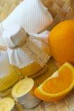 Orange oil Royalty Free Stock Images