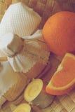 Orange oil Stock Photos