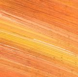 Orange oil painting texture. Royalty Free Stock Photos