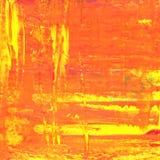 Orange oil painting texture stock illustration