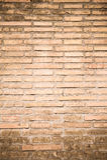 Orange old bricks background vertical Royalty Free Stock Image