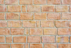 Orange old wall texture Royalty Free Stock Photos
