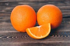 Orange, Orange Lobule. Healthy Lifestyle Concept. Orange, Orange Lobule on the Wooden Table. Healthy Lifestyle Concept Royalty Free Stock Images