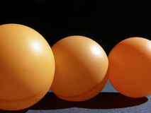 Orange Orbs Stock Images