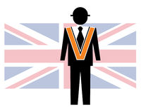 Orange order Stock Image