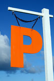 Orange P Stock Photography