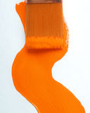 Orange paint 50 Royalty Free Stock Photos