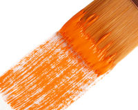 Orange paint 52 Stock Photo