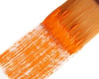 Orange paint 52 Stock Photo