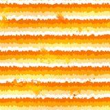 Orange paint splash vector seamless pattern Stock Photography