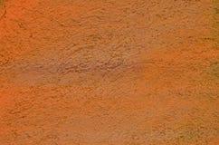 Orange paint texture Royalty Free Stock Images