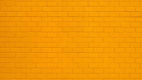 Free Orange Painted Brick Wall Stock Images - 179171334