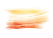 Orange painted brush stroke background Royalty Free Stock Photography