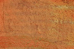 Orange painted wall Stock Photography