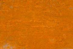 Orange painted wall background Stock Photography
