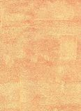 Orange painted wall-paper. Stock Photos
