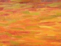 Orange painting Stock Photo