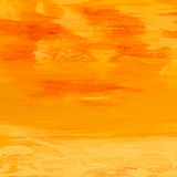 Orange painting Stock Images