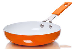 Orange pan Stock Images