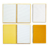 Orange paper anmärkningar för tappning   Fotografering för Bildbyråer