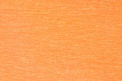 Orange paper as background Stock Images