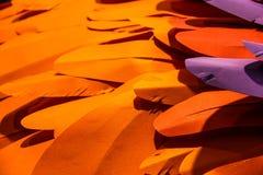Orange paper background Stock Image