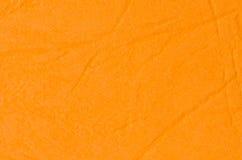 Orange paper background texture Royalty Free Stock Image