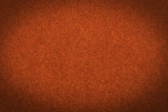 Orange paper with vignette, a background Royalty Free Stock Photos