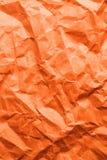 Orange Papier stock abbildung