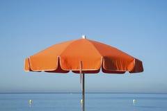 Orange parasol Royalty Free Stock Photo