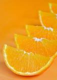 Orange parts  Stock Photo