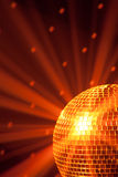 Orange party background Royalty Free Stock Photo