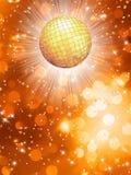 Orange party background. EPS 10 Stock Photos