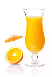 Orange party cocktail Stock Photography