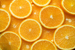 Orange party. 2 Stock Photography